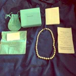 Tiffany &co beaded necklace
